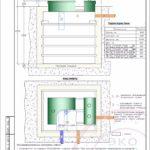 Монтажная схема септика Эко Гранд