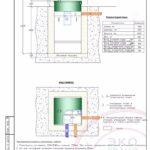 Монтажная схема септика Эко Гранд 3
