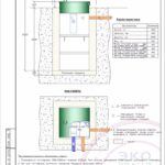 Монтажная схема септика Эко Гранд 5