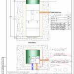 Монтажная схема септика Эко Гранд 5l