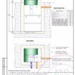 Монтажная схема септика Эко Гранд 8